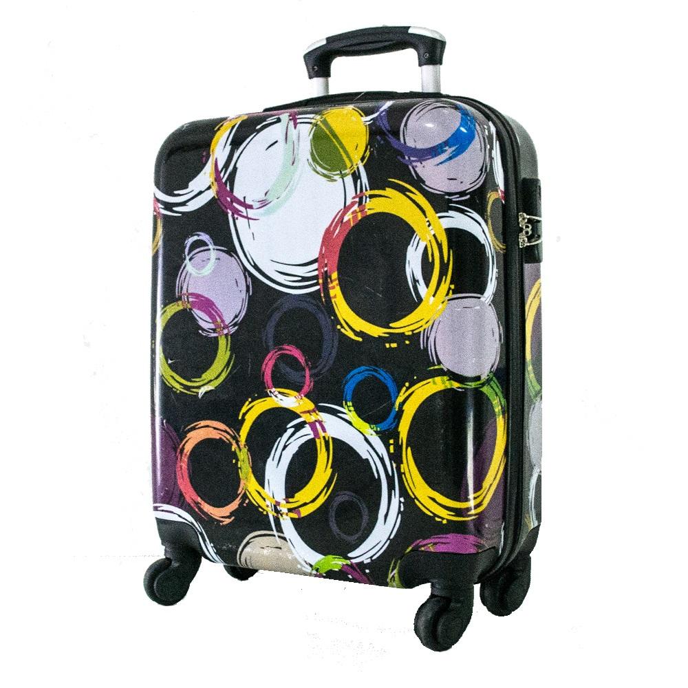 Най-висок клас поликарбонов авио куфар-спинър за ръчен багаж HANDLE TRAVELLER 910-10