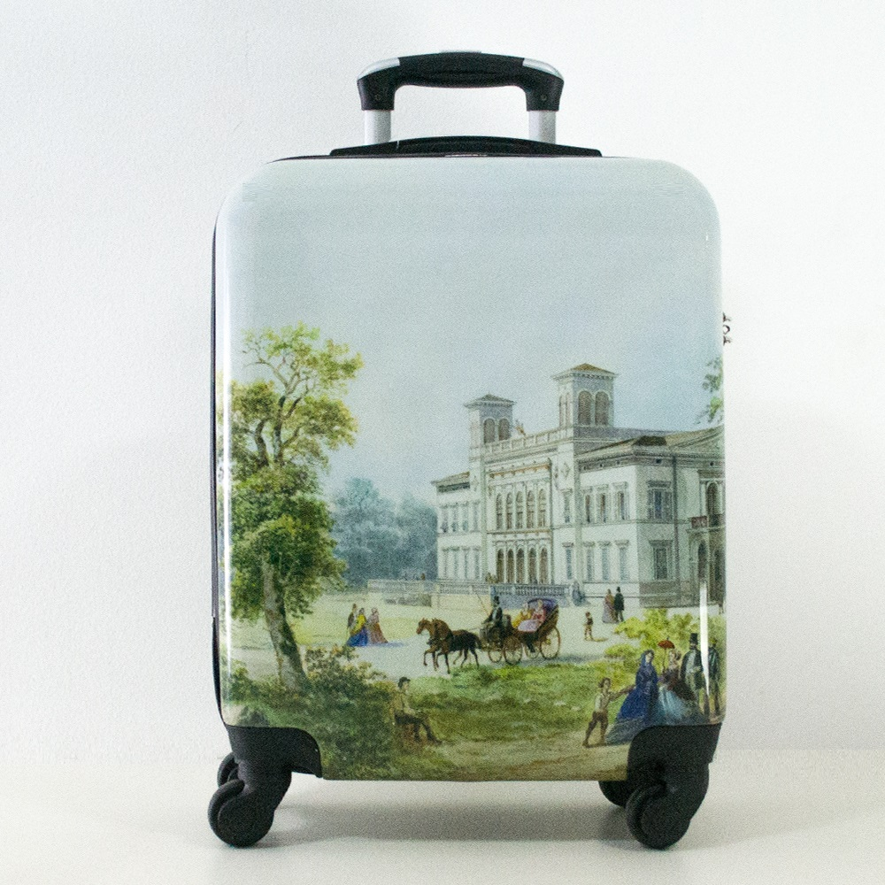 Най-висок клас поликарбонов авио куфар-спинър за ръчен багаж HANDLE TRAVELLER 910-7