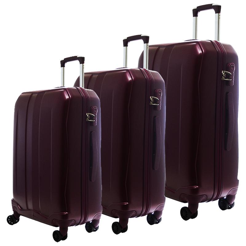 HIGH CLASS Комплект 3 броя ABS авио куфари-спинъри TRANSIT 850 BORDO