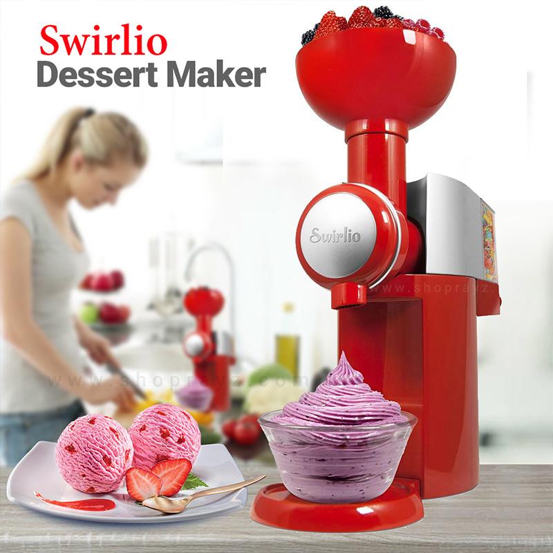 Супер машина за плодов сладолед от замразени плодове SWIRLIO BIG BOSS
