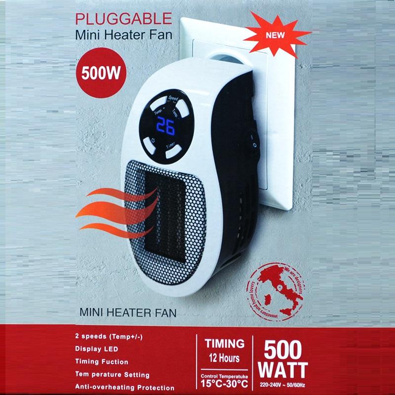 Най-новият и мощен модел интелигентна вентилаторна печка MHF500W, вентилаторен отоплител