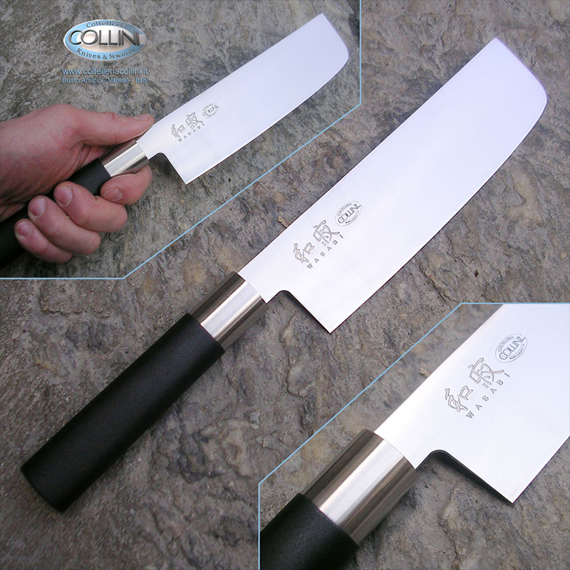 Висок клас японски нож за зеленчуци KAI NAKIRI 6716N