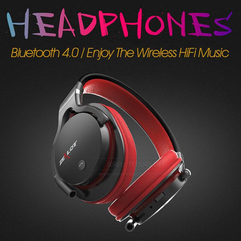 Най-висок клас професионални блутудни стерео слушалки ZEALOT B5 с всички HiFi екстри