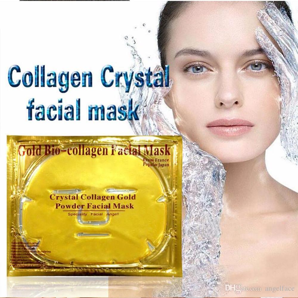 Златна висококачествена био - колагенова маска за регенерация и подмладяване на лицето