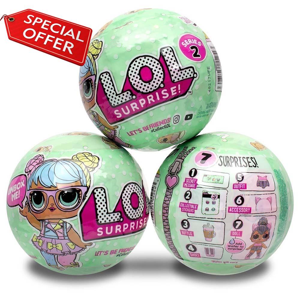 Голямо яйце LOL SURPRISE DOLL Series 3 - кукла с къща и аксесоари - ПОСЛЕДЕН МОДЕЛ, 3+