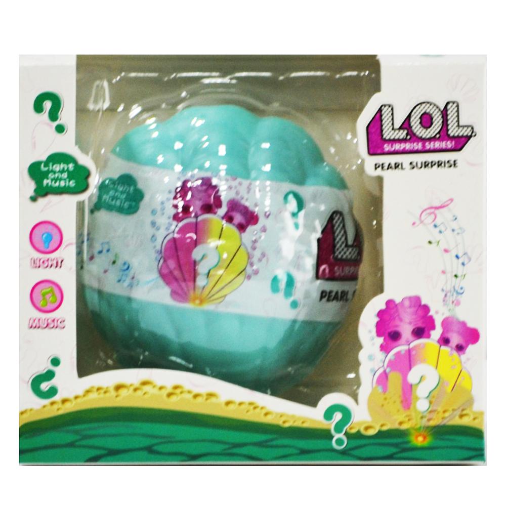 Кукла изненада: LOL SURPRISE SHELL 3 - ПОСЛЕДЕН МОДЕЛ, 3+