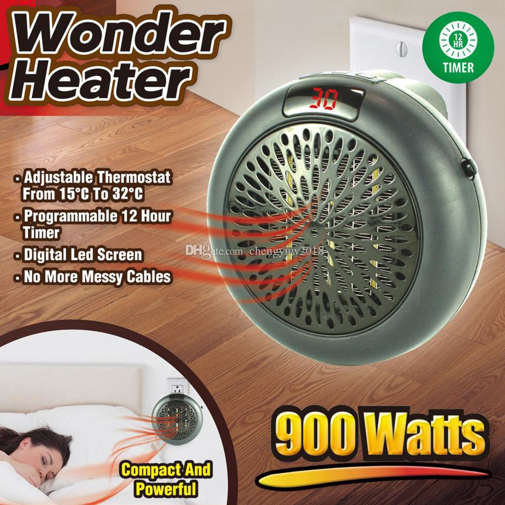 Мощен и икономичен електронно управляем отоплител WONDER HEATER 900W, DP-185