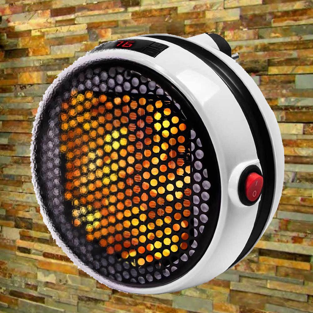Мощен и икономичен електронен вентилаторен отоплител WONDER HEATER 1000W, с дистанционно