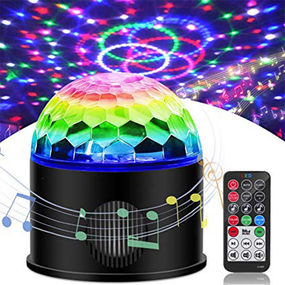 BLUETOOTH LED PARTY система с вградена тонколона и дистанционно управление на режимите
