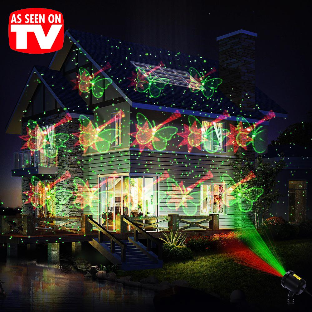 Лазерно светлинно шоу LED ФИГУРИ - танцуващи приказни светлинни фигури. За вътре и вън