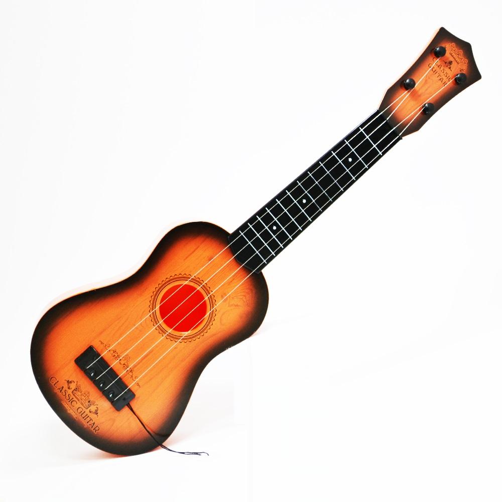Акустична китара с 4 струни и калъф с цип CLASSIC GUITAR в испански стил, 2+