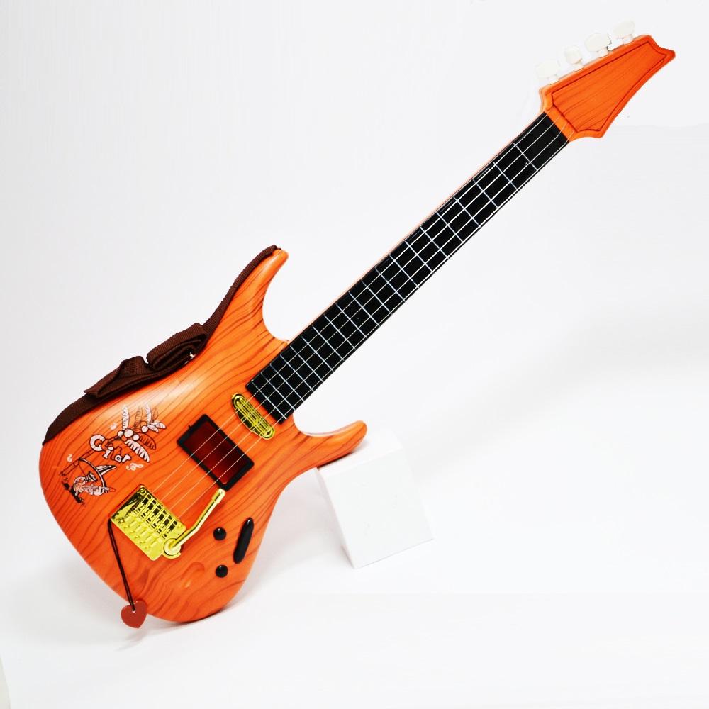 Електрическа китара с 4 струни и калъф с цип - HARD ROCK  CLASSIC, 2+