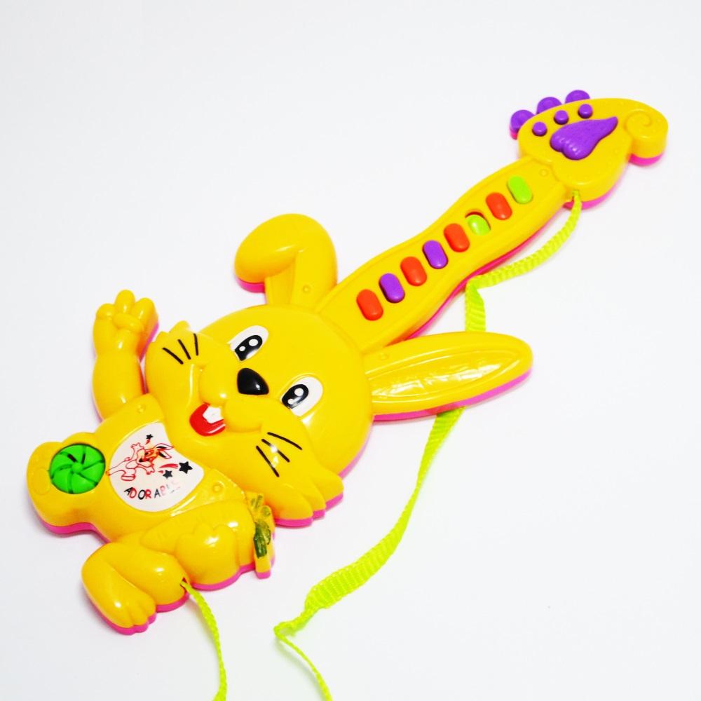 Малка електрическа китара - йоника YELLOW RABBIT, 1+
