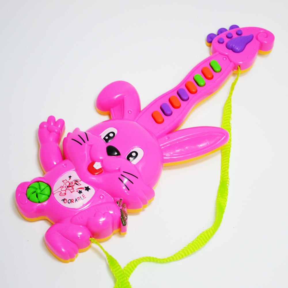 Малка електрическа китара - йоника PINK RABBIT, 1+