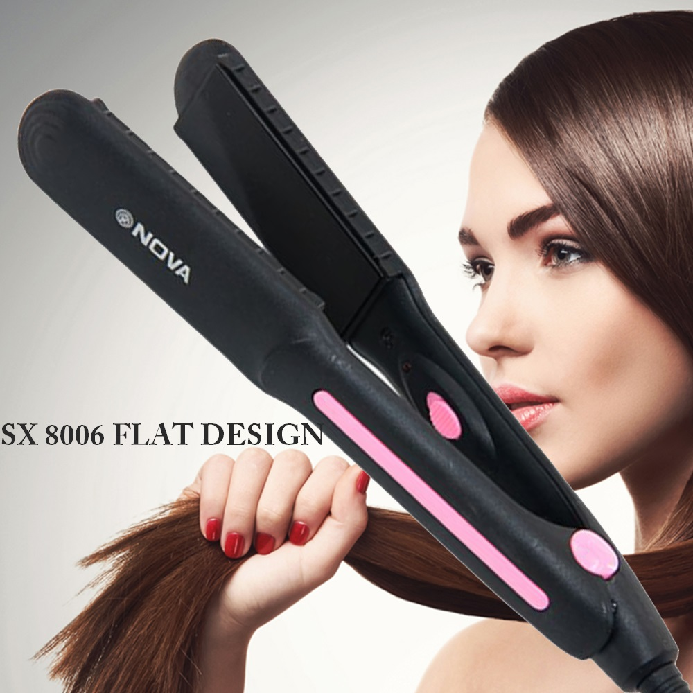 Компактна класическа преса NOVA SX8006 за изправяне на коса на невероятна цена