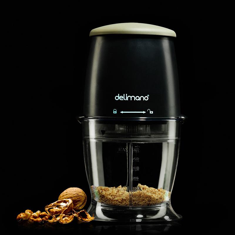 Кухненски чопър Delimano Astoria 300W 550 ml, леко нарушен търговски вид на кутията