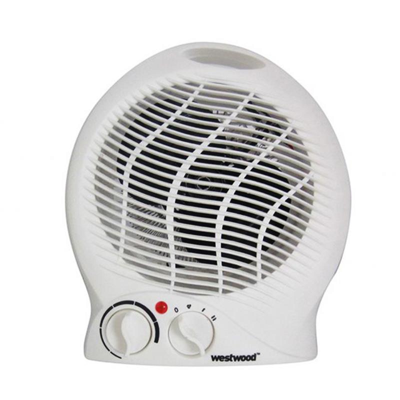Mощна вентилаторна печка: WESTWOOD FH04, 2000W, отоплител
