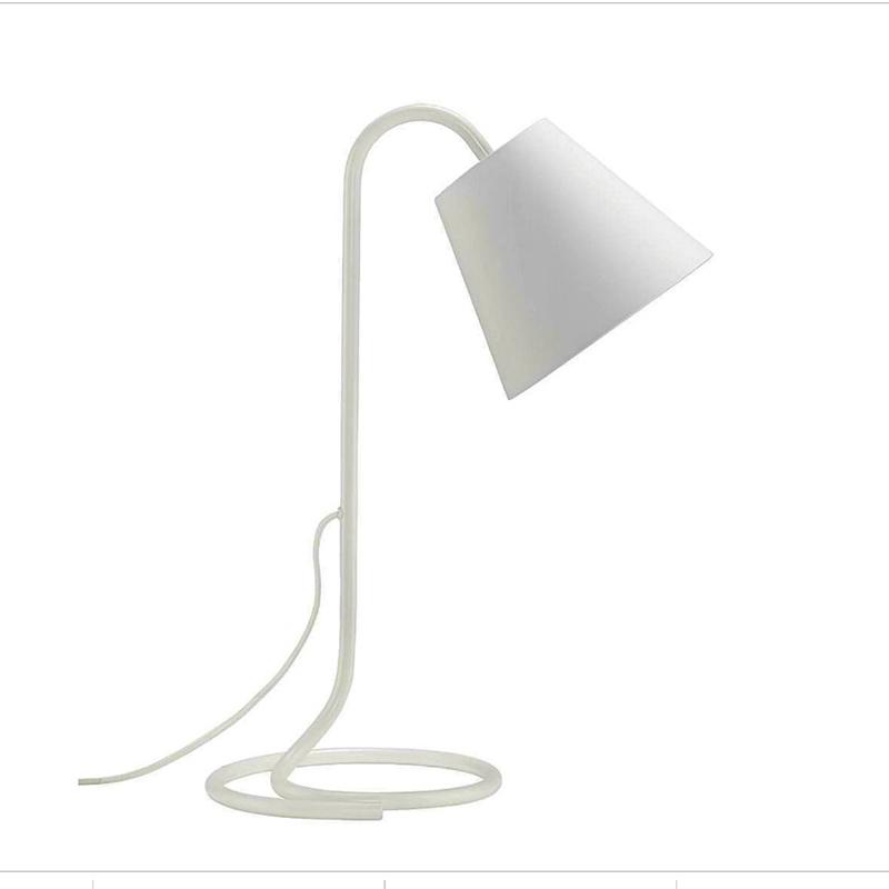 Елегантна френска настолна LED лампа LEA MICASA, 50 см, тръбна конструкция