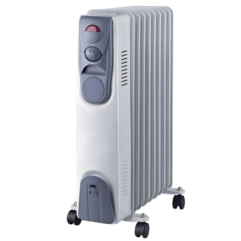 Мощен и ефективен маслен радиатор NEO 1509, 9 ребра, 1500W, отоплител