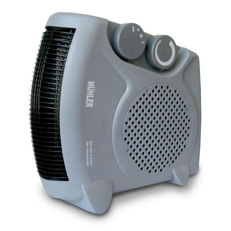 Висок клас вентилаторна печка MUHLER 2055, 2000W, тиха, сигурна, отоплител