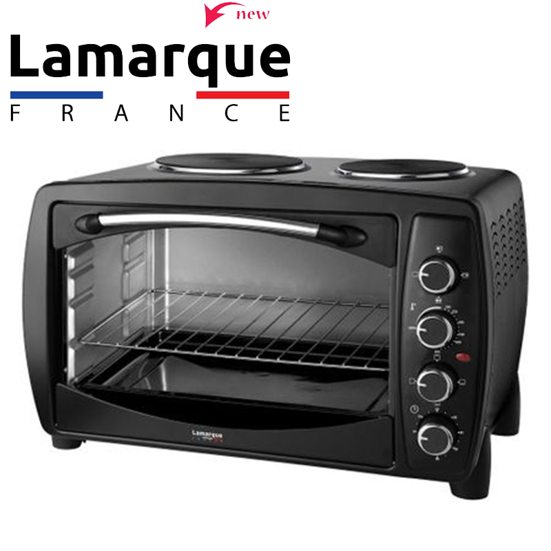 Мощна мини печка с фурна и 2 котлона LEMARQUE LTO 3171