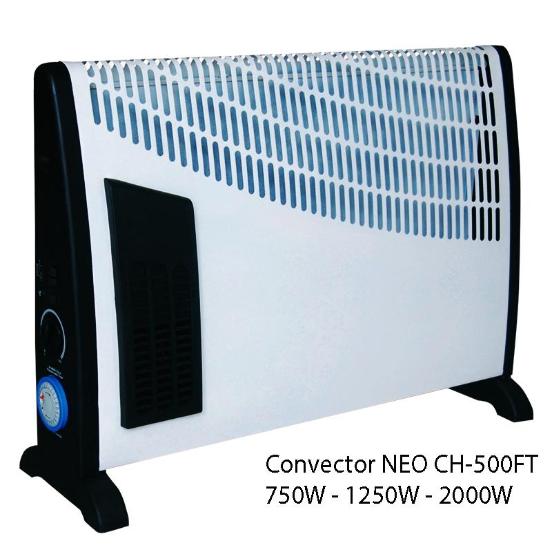 Функционален и икономичен конвектор NEO CH550FT, 750-2000W, отоплител