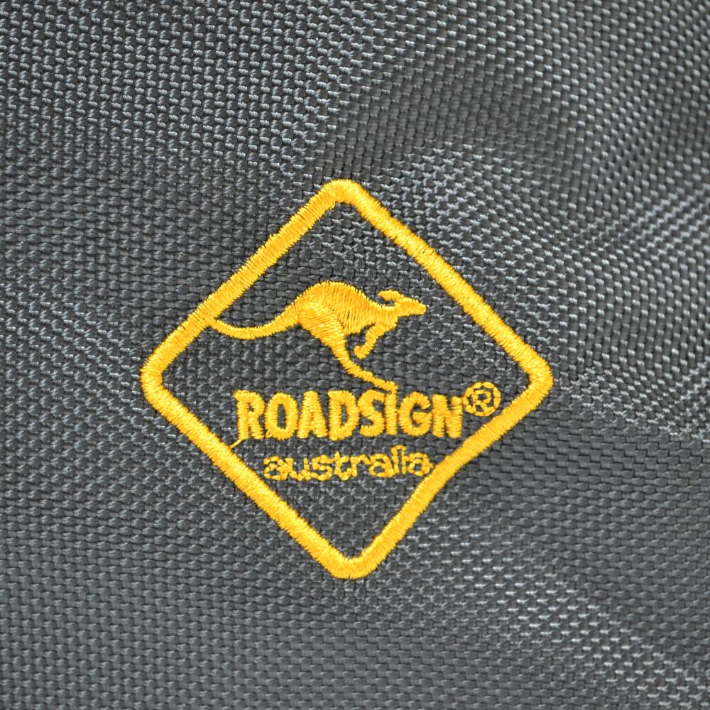 Здрав компактен сак ROADDESIGN Australia 5102 GREY, едър промазан брезент