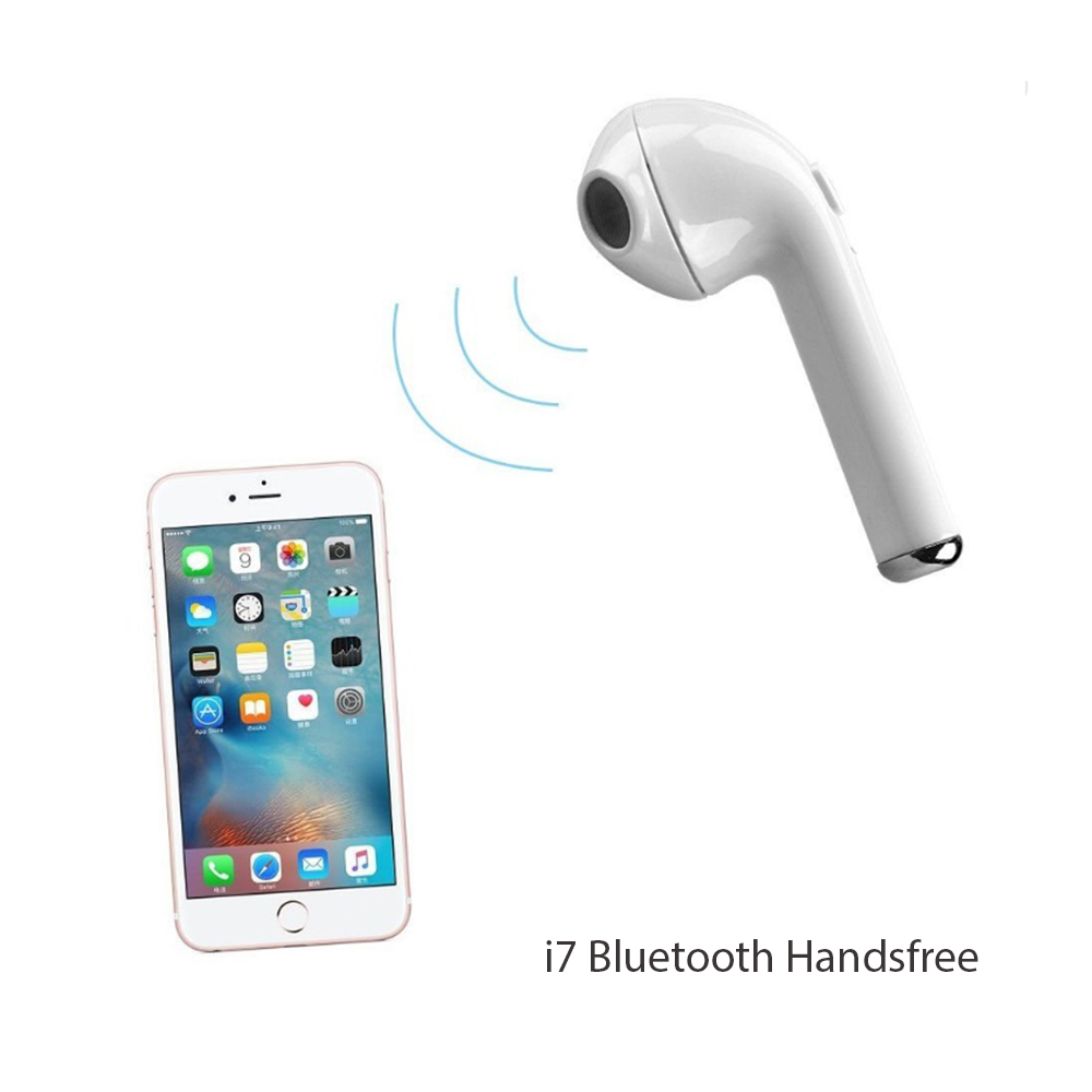 ОФЕРТА РАЗБИВАЧ: i7 Bluetooth handsfree слушалка