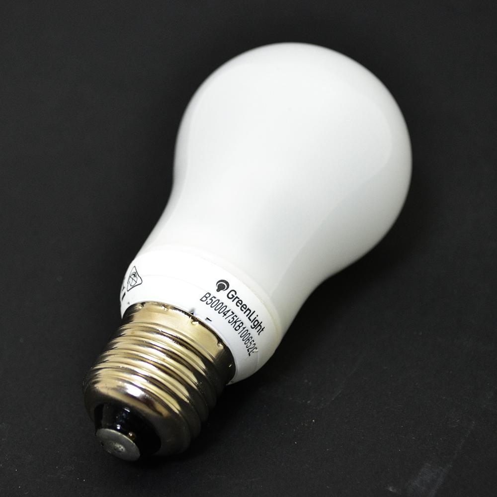 Немска енерго спестяваща крушка 11W=60W E27 2700K топла жълта светлина, 10000 часа живот