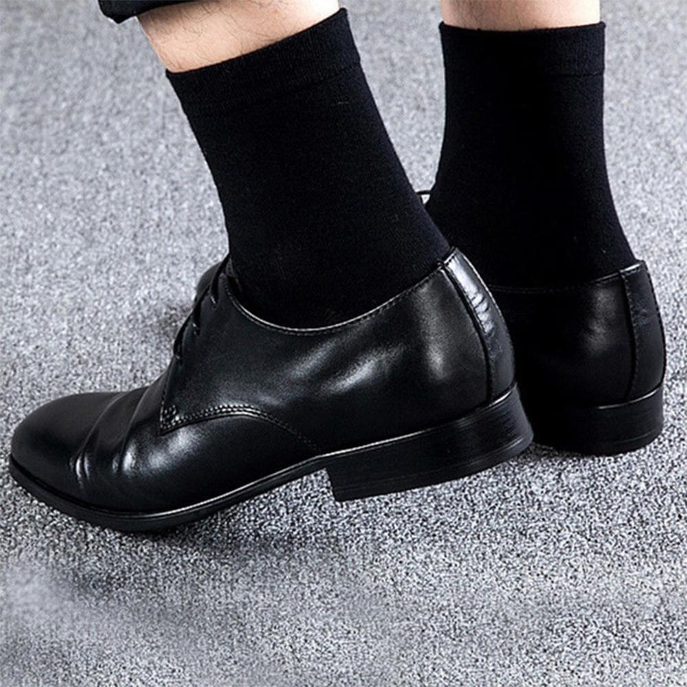 5 чифта мъжки чорапи SONIC Classic BLACK, 40-44 номер. 85% памук, 10% полиамид, 5% еластан