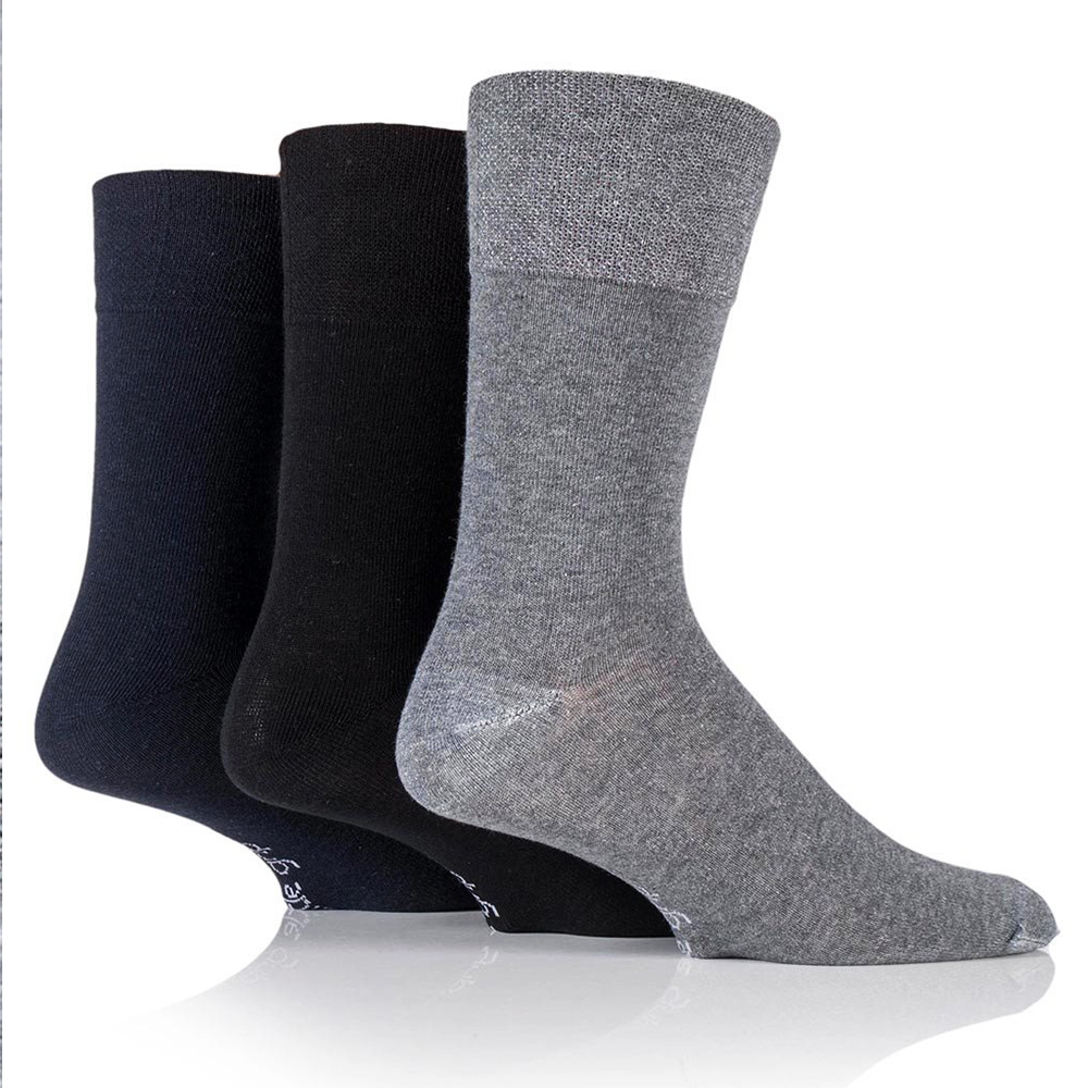 5 чифта мъжки чорапи SONIC Classic Silver, 40-44 номер. 85% памук, 10% полиамид