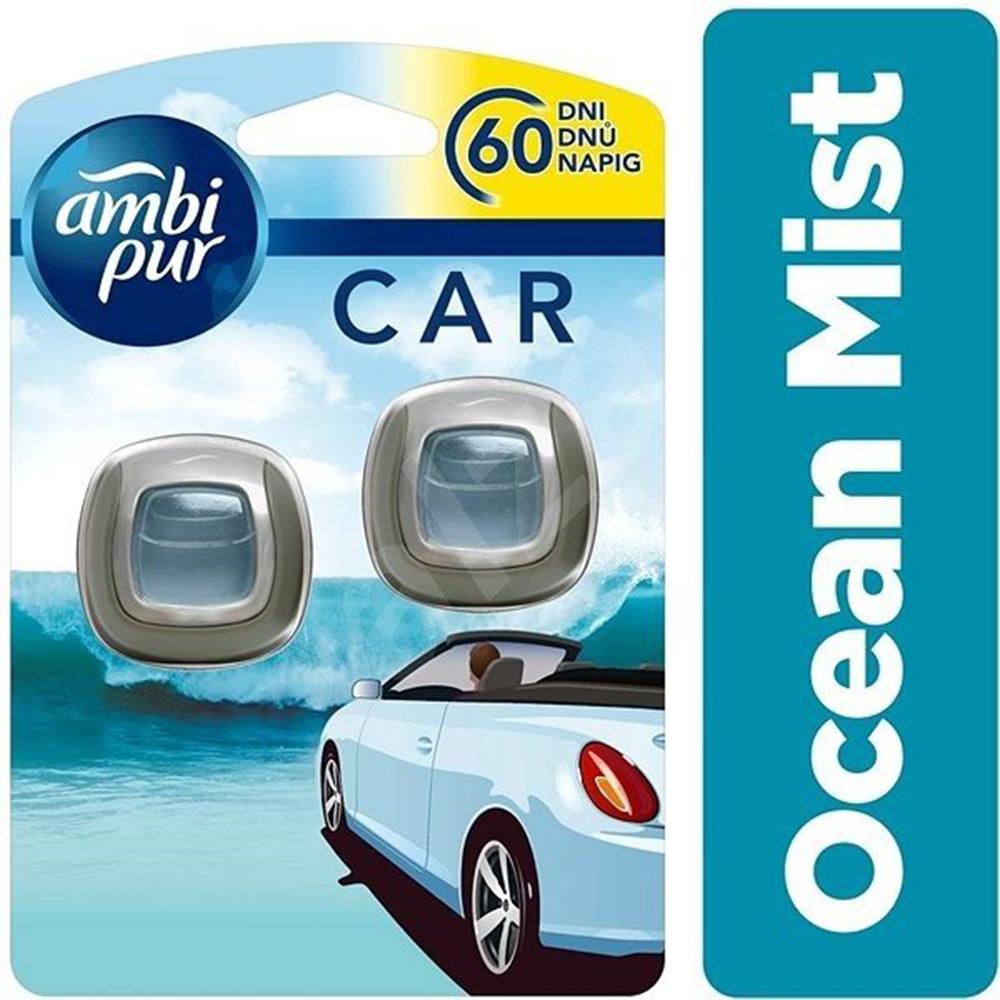 2 ароматизатора за автомобил AMBI PUR OCEAN MIST