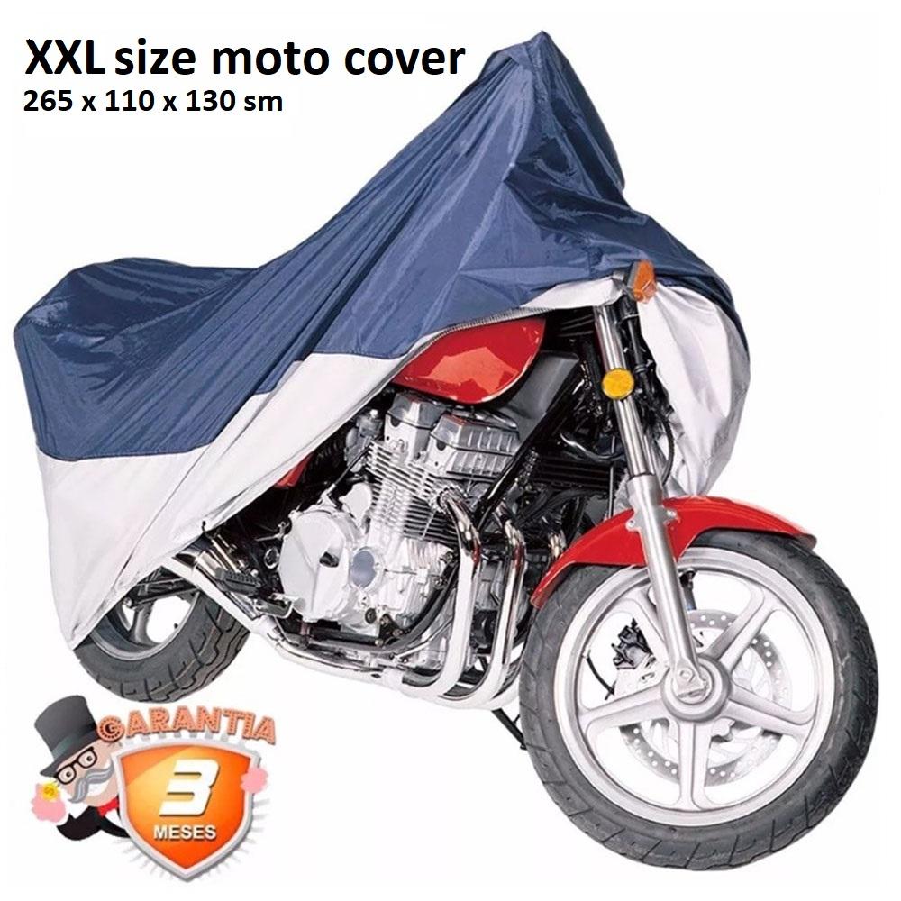 Универсално покривало за мотоциклет размер XXL,  265 x 110 x 125 sm