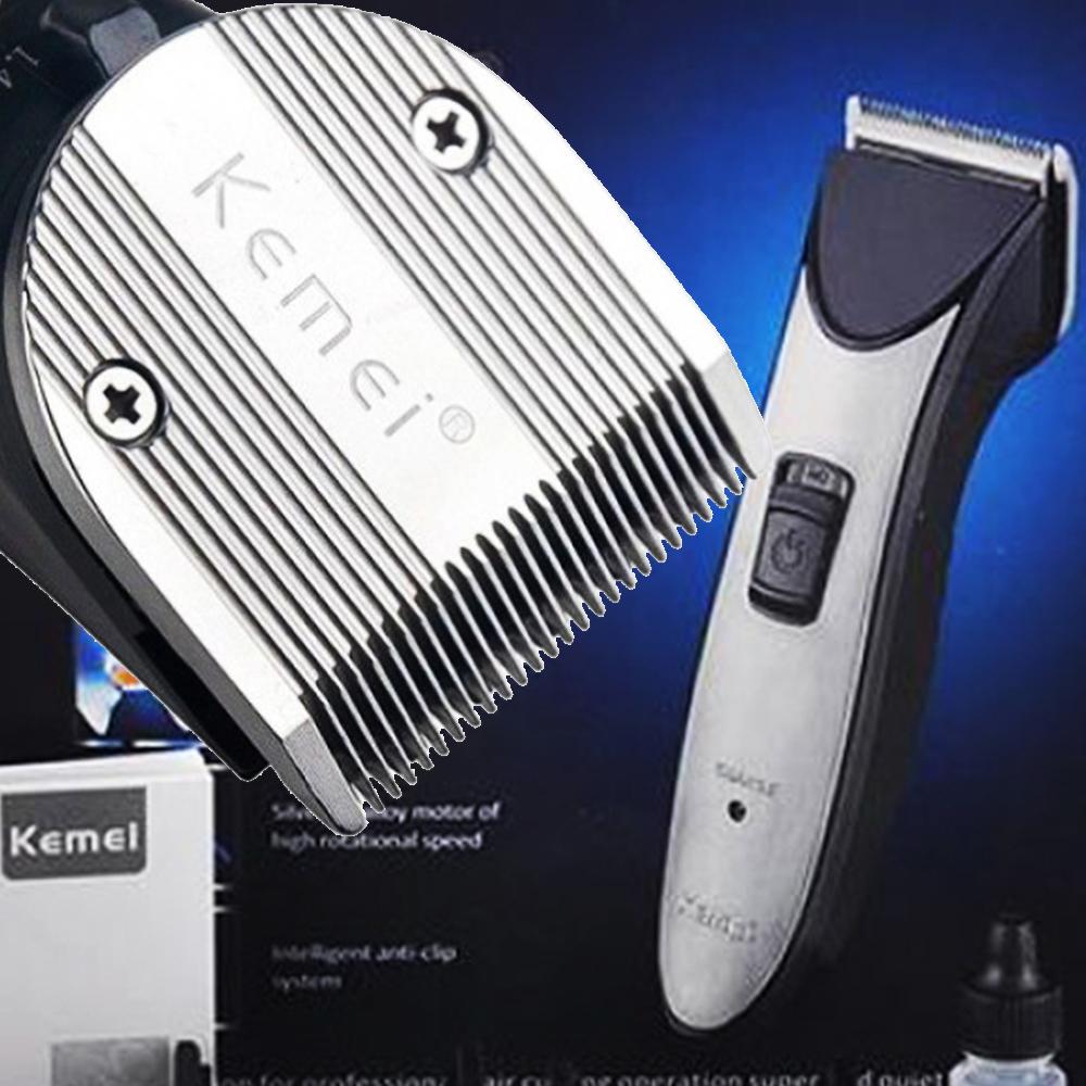 Професионален тример за подстригване KEMEI 3909, 4 приставки, акумулаторни батерии