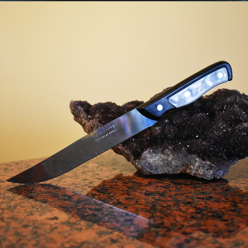 Кухненски нож KING GARY White, пластмасова дръжка, 26 см.
