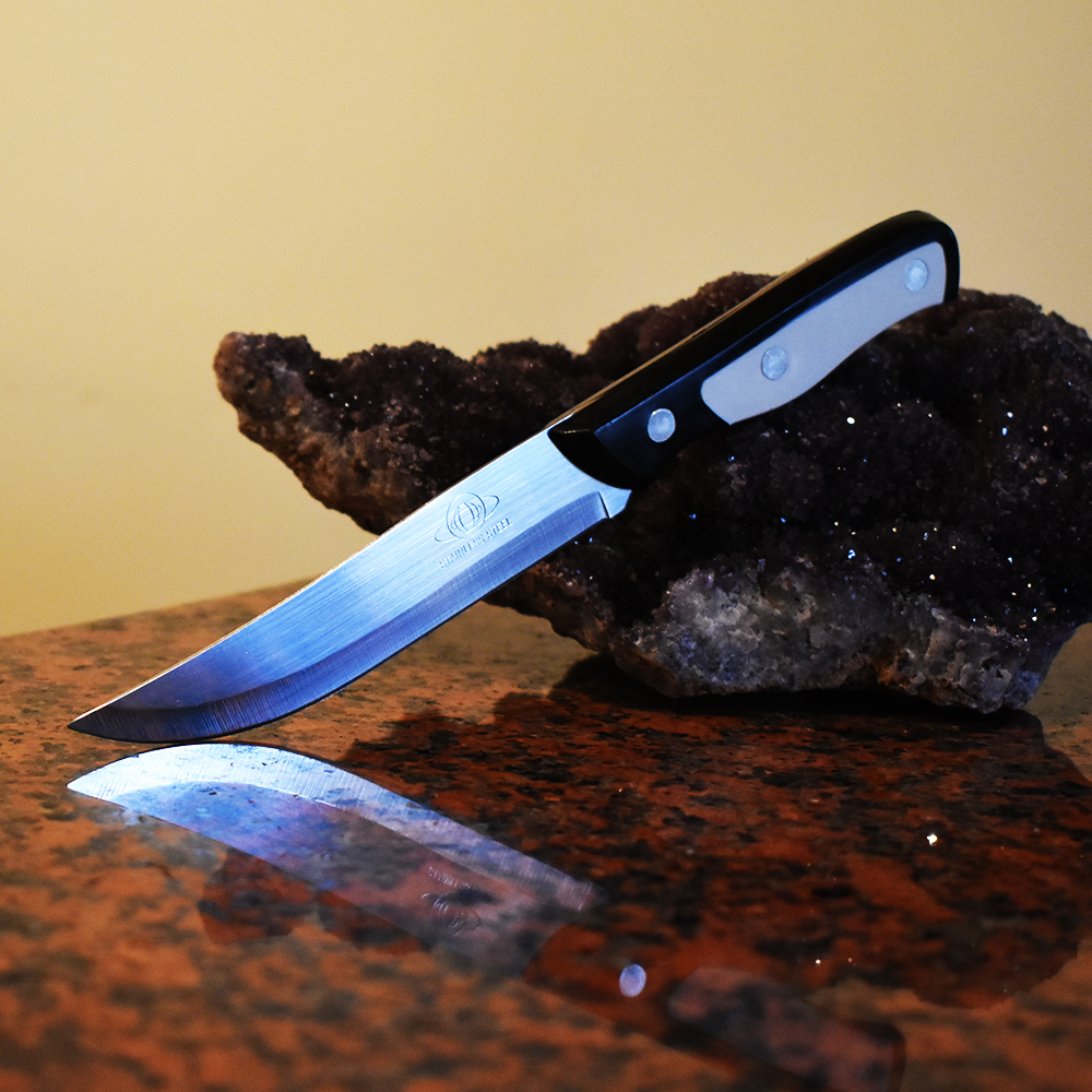 Кухненски нож KING GARY White, пластмасова дръжка, 22.5 см.