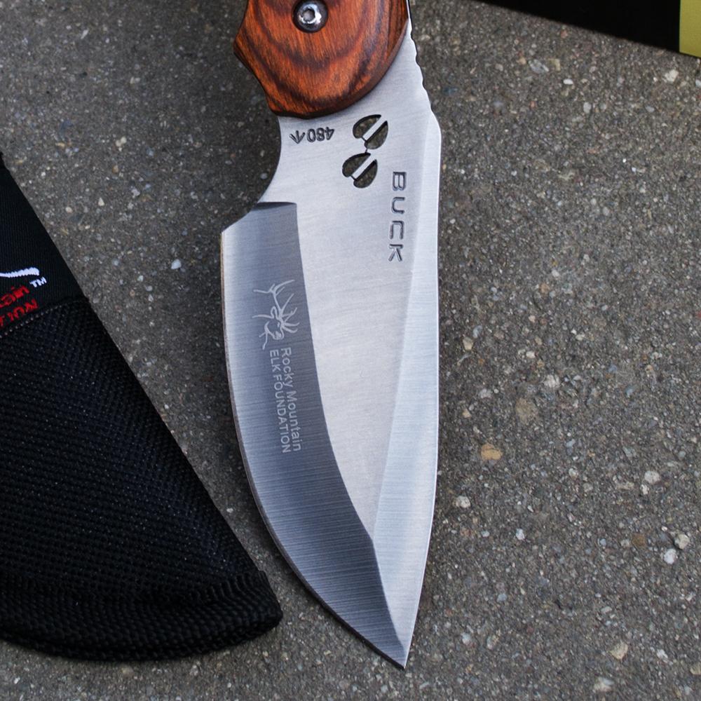 Специален ловен нож BUCK 480 ELK FOUNDATION COMPACT