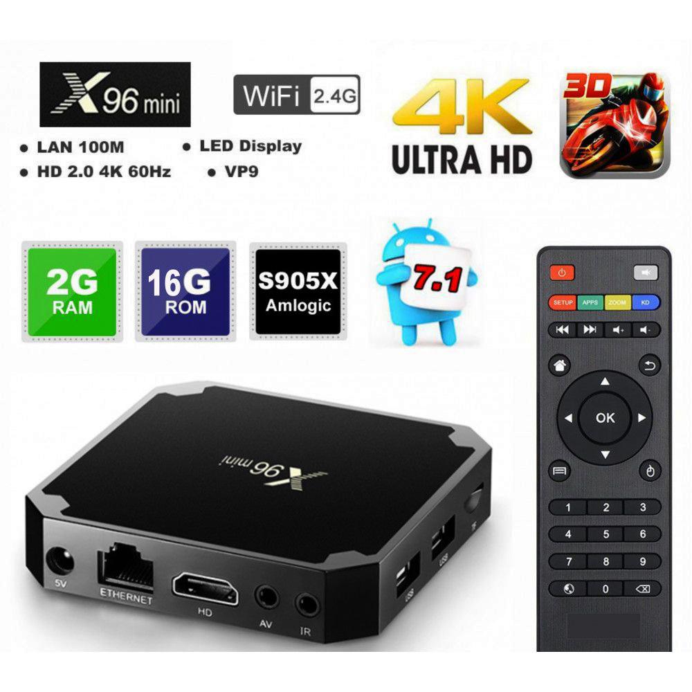 Android SMART TV BOX X96 mini, 2GB RAM, дждж