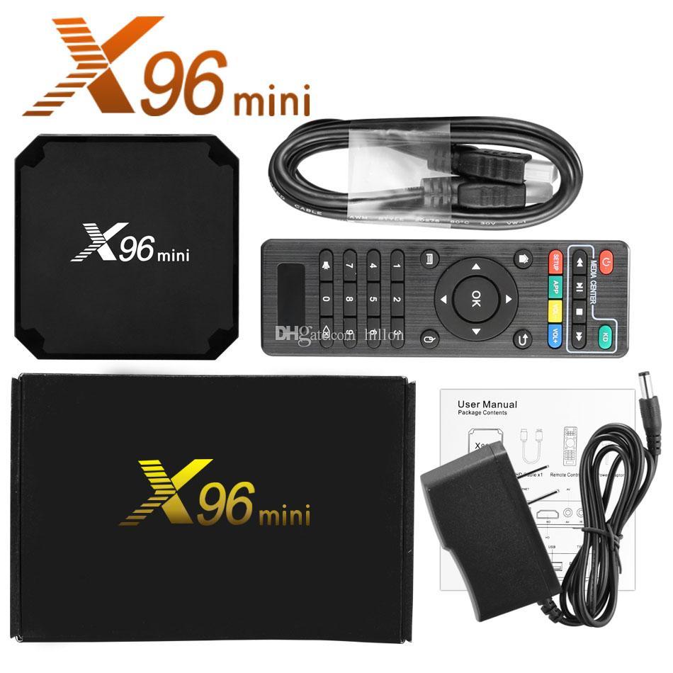 Android SMART TV BOX X96 mini, 4GB RAM