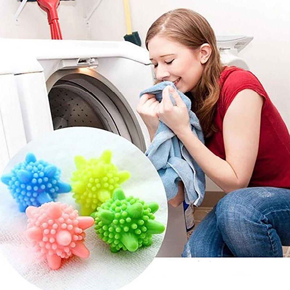 Хипоалергенни силиконови топчета разбухват прането и намаляват мачкането