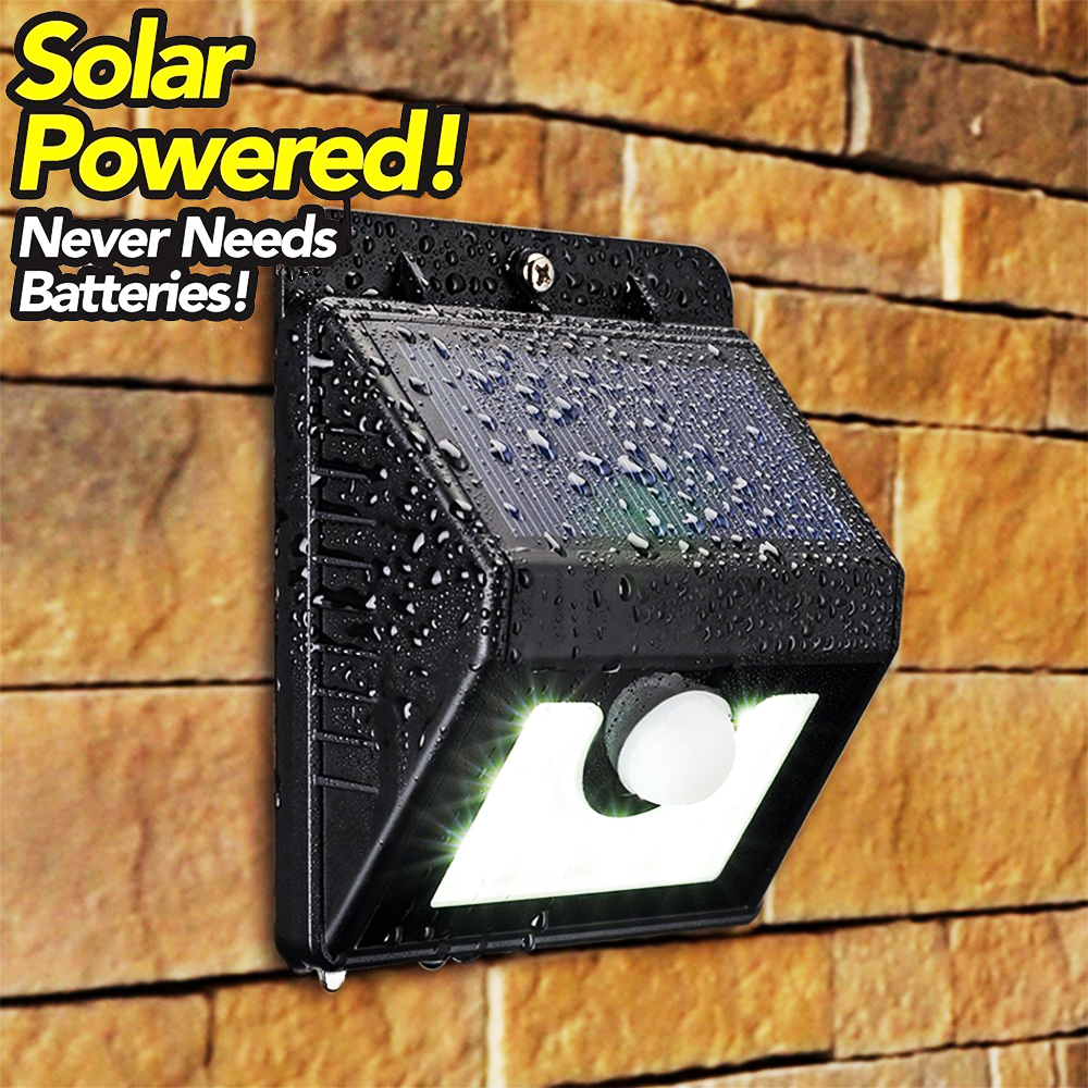 BF SALE: самозареждаща се соларна LED лампа с датчик за движение EVER BRITE