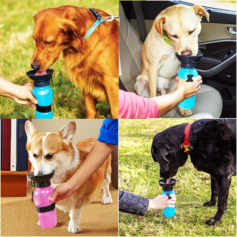 AQUA DOG- иновативна бутилка - поилка за кучета