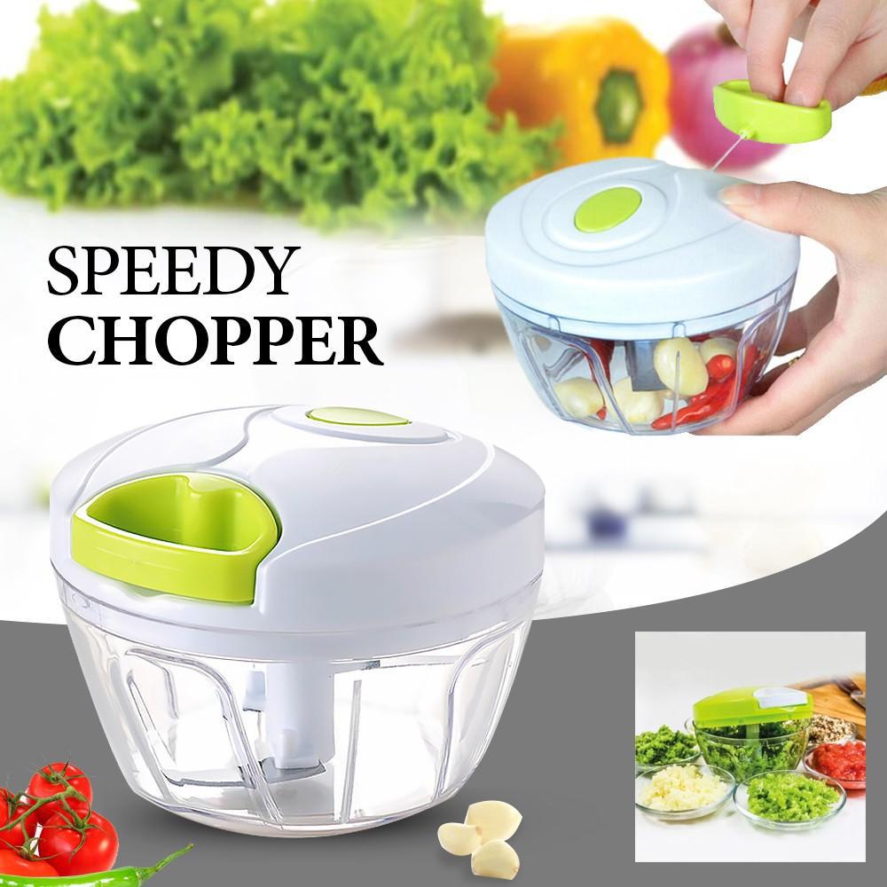 Механичен кухненски чопър Nicer Dicer Plus Speedy Chopper