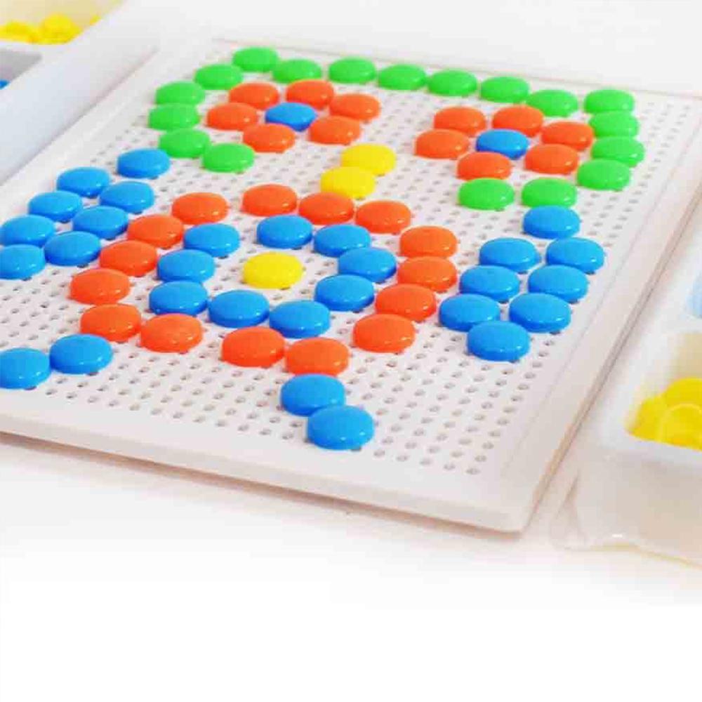 Атрактивна детска мозайка 28 х 21 см. 100 части за деца 3+