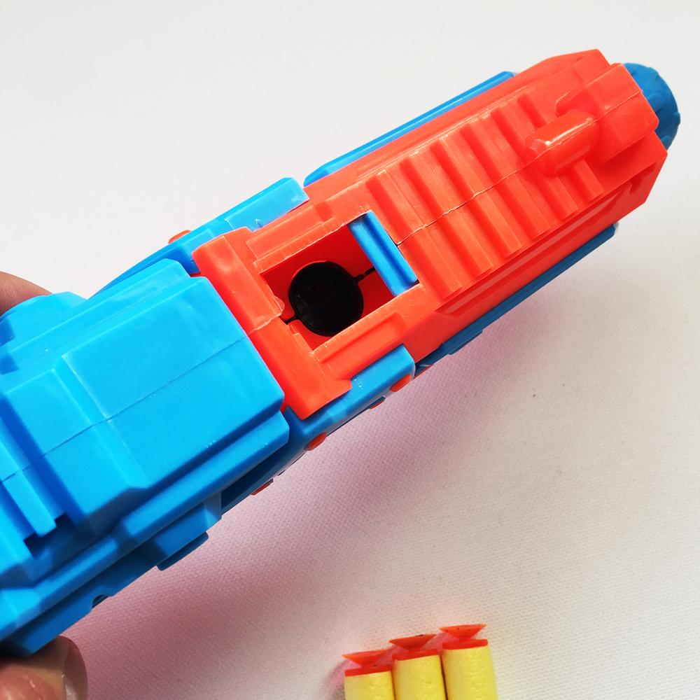 ТОП ОФЕРТА: много як голям NERF 2 в 1 стреля с леки стрели и водни топчета, 3+