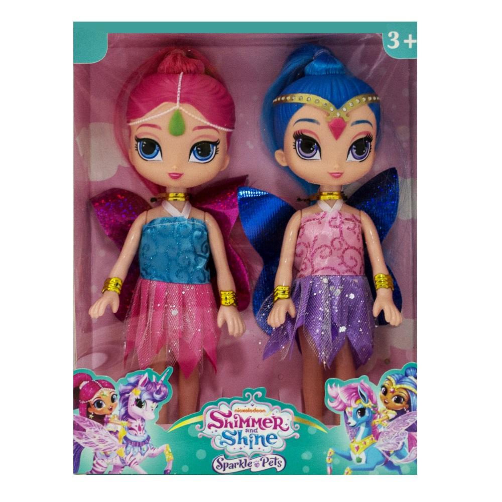 Луксозен сет 2 кукли Искрица и Сияйница, Shimmer and Shine, 3+