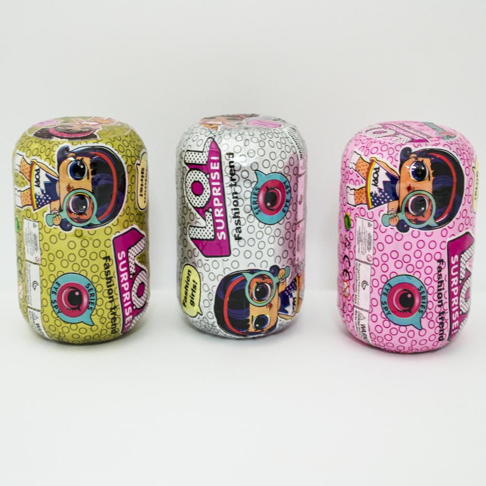 Най-новите LOL Surprise - кукли изненада, серията EYD SPY, в кутия- чанта, 9 части-хапчпе
