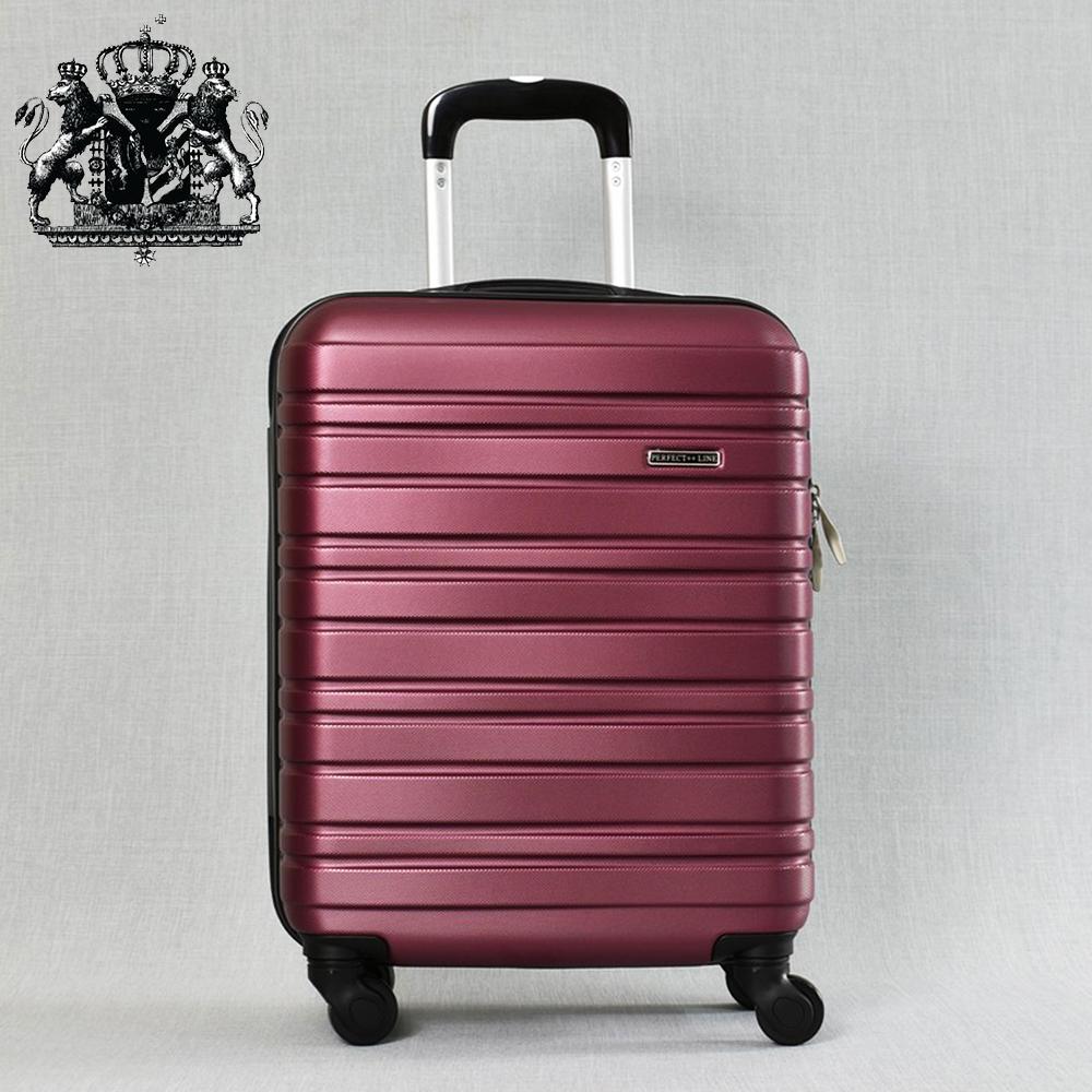 Класен ABS куфар - спинър за ръчен багаж 8094 ROYAL BORDEAUX 52/42/20, 2.4 кг., вс. екстри