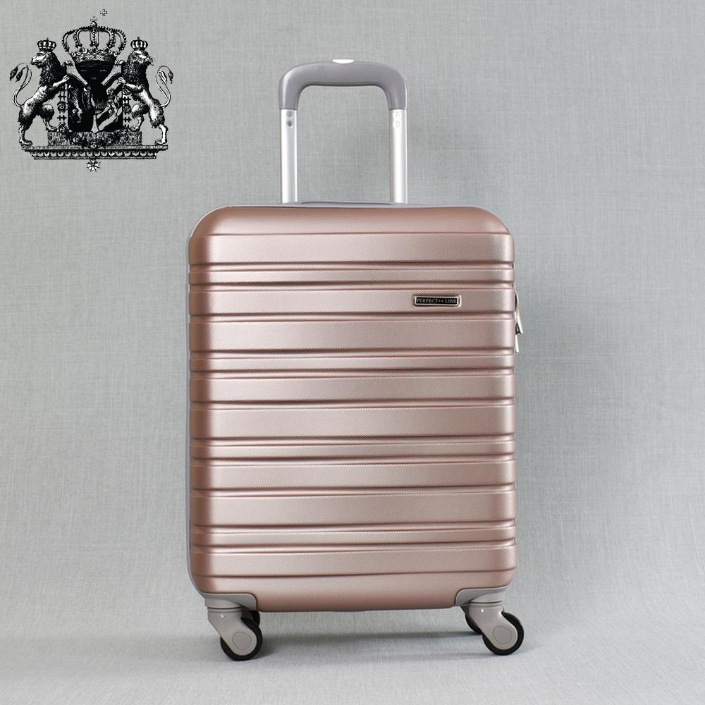 Класен ABS куфар - спинър за ръчен багаж 8094 ROYAL ROSE 52/42/20, 2.4 кг., всички екстри