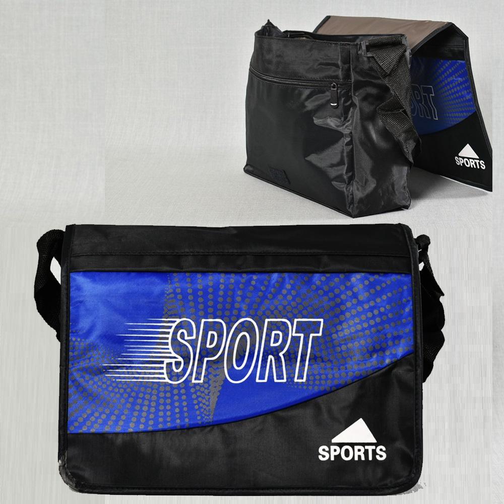 ЛИКВИДАЦИЯ: ученическа / спортна чанта с капак SPORT 249
